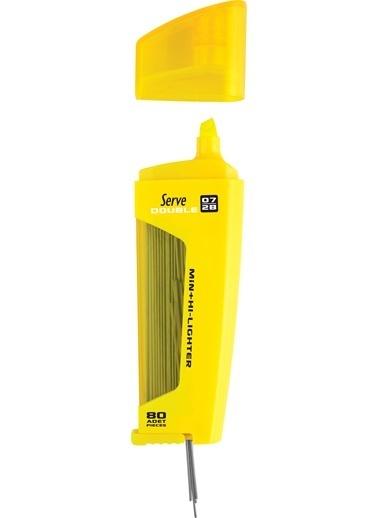 Serve Dbl Mek Kur Klm Ucu-Fos Klm 07Mm Sarı Renkli